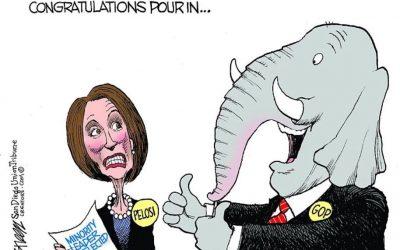 Democrats overwhelmingly nominate Pelosi as Speaker amid rebellion