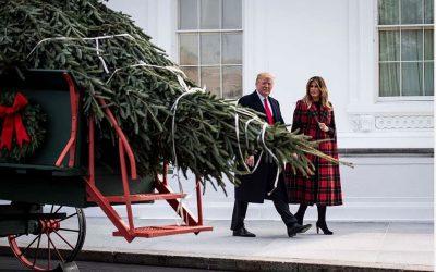 Melania Trump Has Unveiled the 2018 White House Christmas Decorations