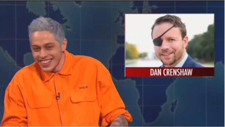 Pete Davidson's 'SNL' Joke About Wounded Vet Running For House Seat Draws Fire